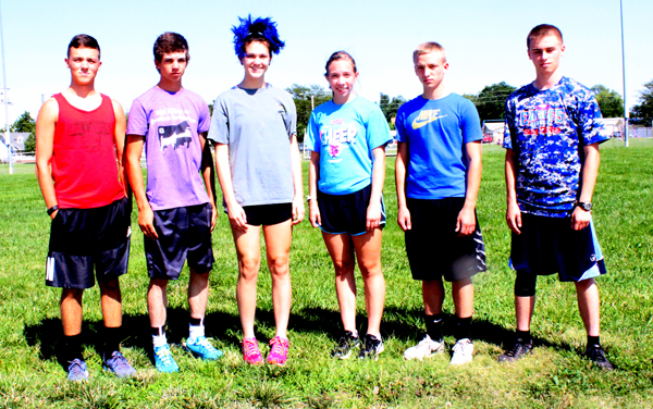 Nine runners to compete for Eagles
