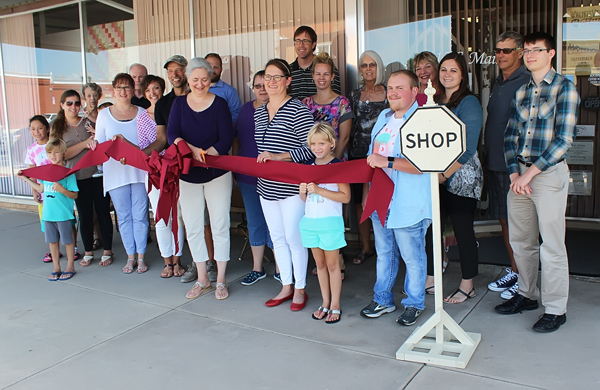 Two local businesses ceremonially opened with ribbon-cutting hosted by Hillsboro Chamber