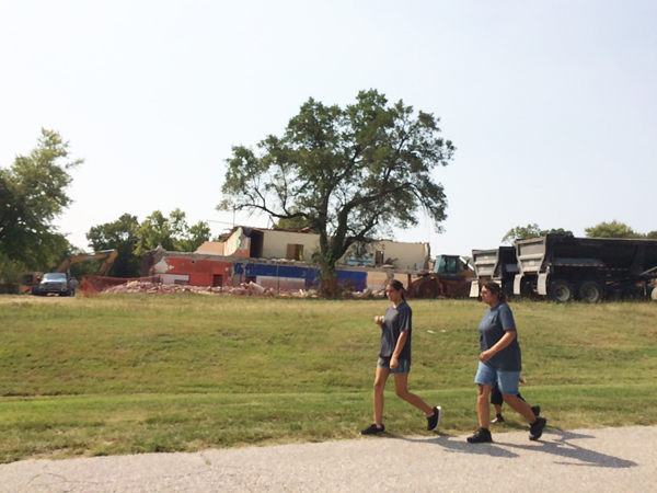 End of an era as former Florence school building nearly razed