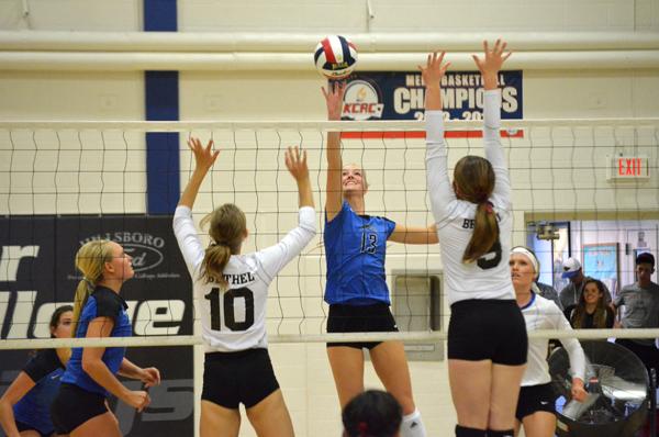 Tabor volleyball head to Nebraska after Bethel win