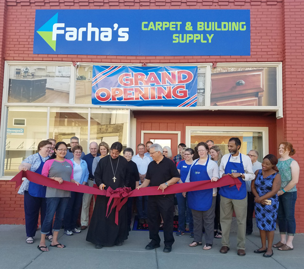 Chamber ribbon-cutting marks Farha's grand opening in Hillsboro