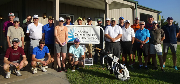 Goessel Community Foundation hosts fundraiser golf tournament