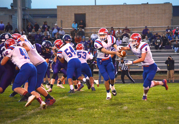 Marion rolls past Southeast of Saline