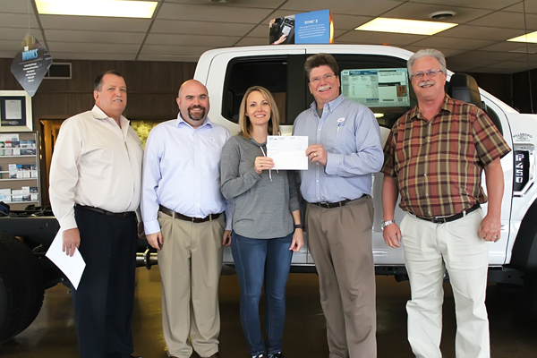 Hillsboro Ford distributes $4,040 from Drive 4 UR School event