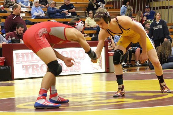 Injuries deplete wrestling roster