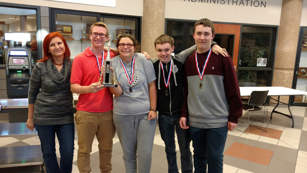 HHS chess team third at Smoky Valley tournament