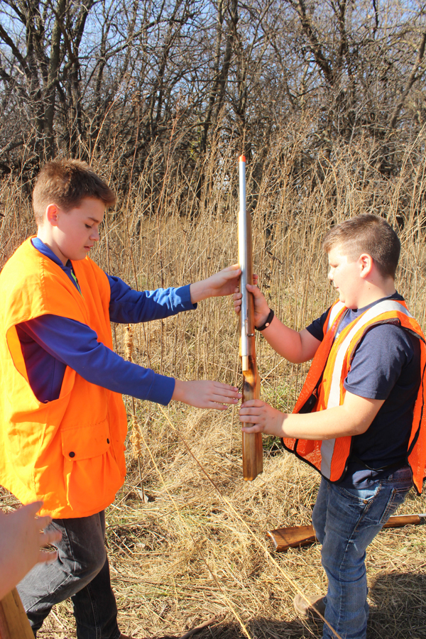 Schooling the next generation of hunters