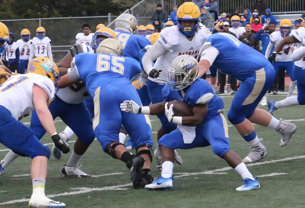 Tabor claims KCAC 3-peatwith 65-21 win over Bethany