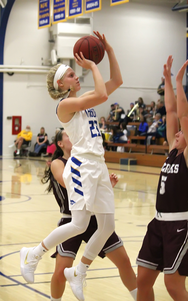 Tabor women endure tough start