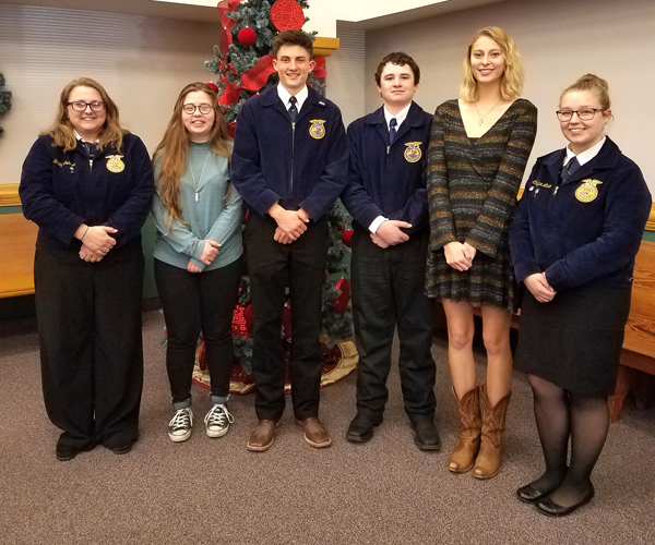 Hillsboro FFAers compete at Ag Communications event at Marion