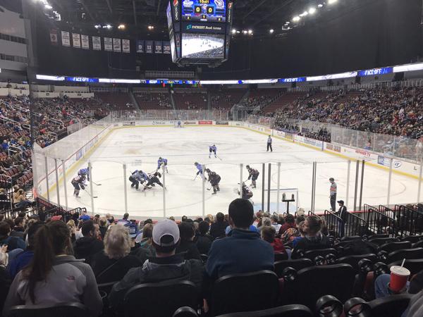 Warming up to hockey ice
