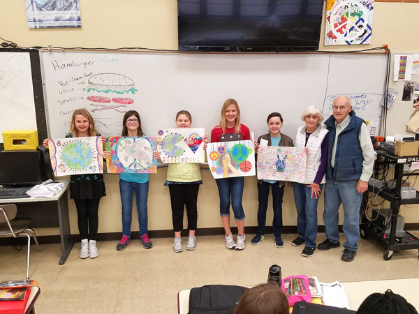 Peace poster winners 2017