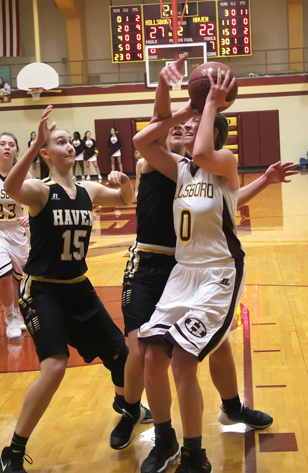 Trojan girls fall to top-ranked Haven