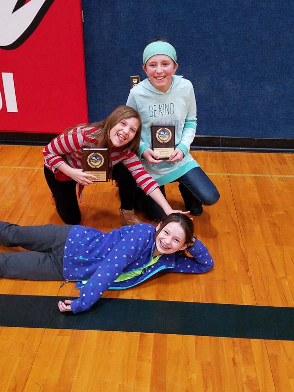 Marion Elementary School discovers top three spellers