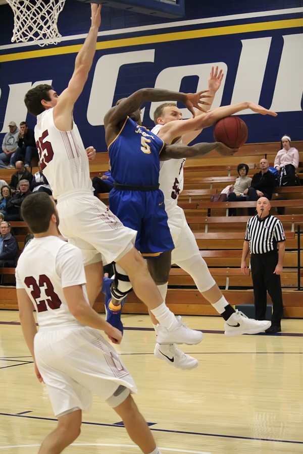 Bluejays battle tough teams at Holiday Classic- Men's Basketball Results