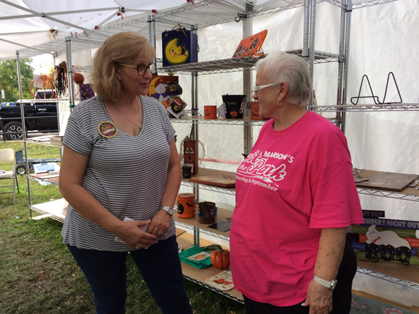 Another grassroots effort in Marion is the annual Art in the Park event each third Saturday of September in the city's Central Park. The arts and crafts showcase attracts several thousands visitors and buyers.