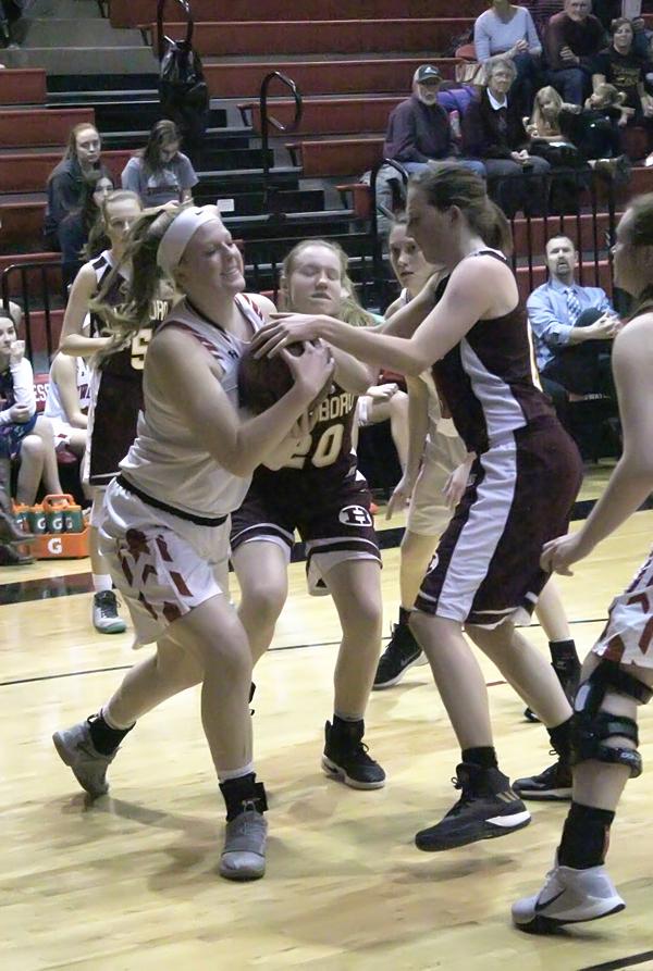 Trojans falter vs. state-ranked Hesston, Halstead- Girl's Results