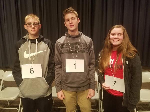 Hillsboro Middle School Winners