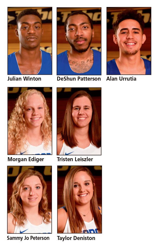 KCAC head coaches award honors to seven Bluejays