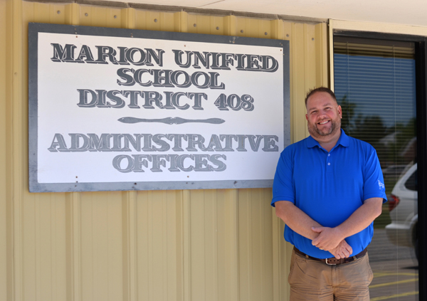 New superintendent leads USD 408 into the future