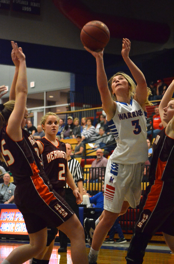 Marion girls defeat Herington in 2A substate quarterfinals