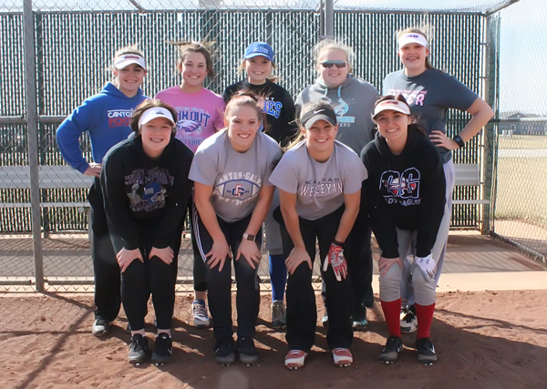 Nine veterans return for Eagle softball team