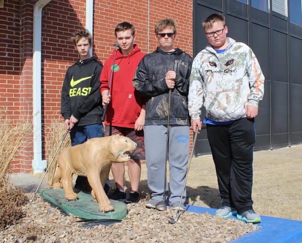 Four freshmen comprise CHS golf team