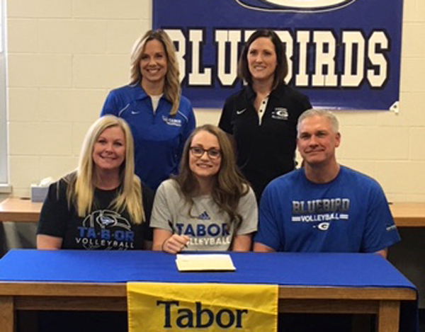 Hiebert signs with Tabor volleyball