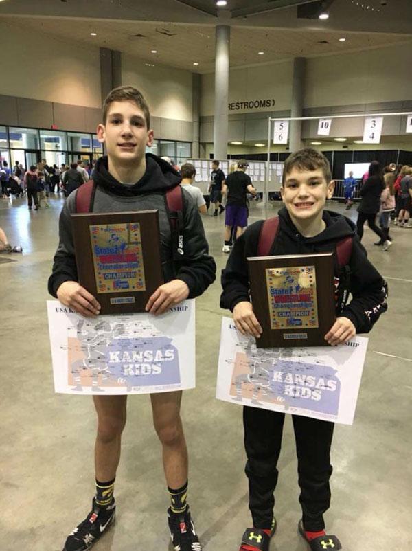 Padgett twins win state gold