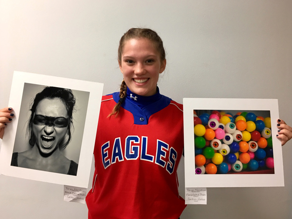Area students recognized for artistic skills at league contest