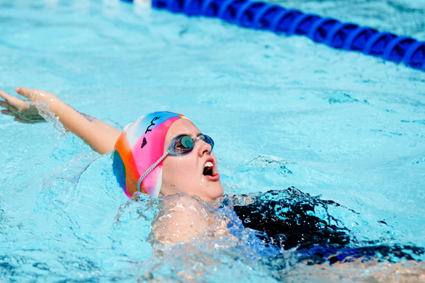 Hillsboro swimmers take second at Hesston meet