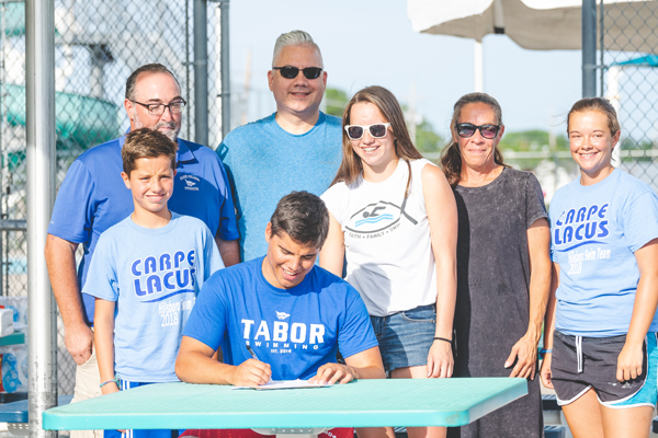 Priest signs with Tabor College