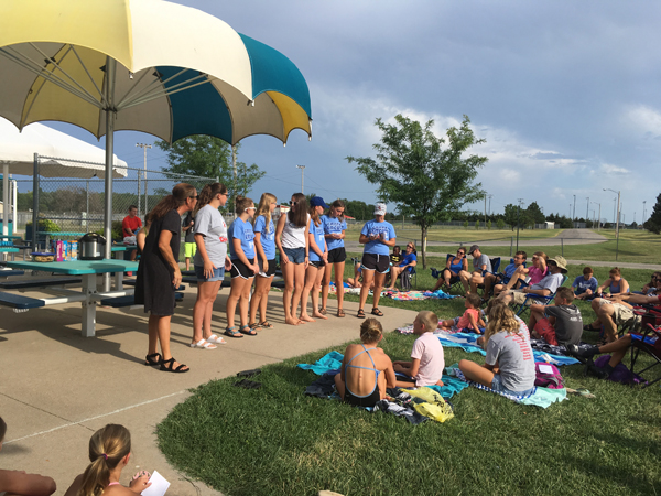 Hillsboro Swim Team receives season awards