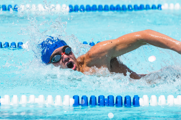 Hillsboro swim team takes second in huge meet