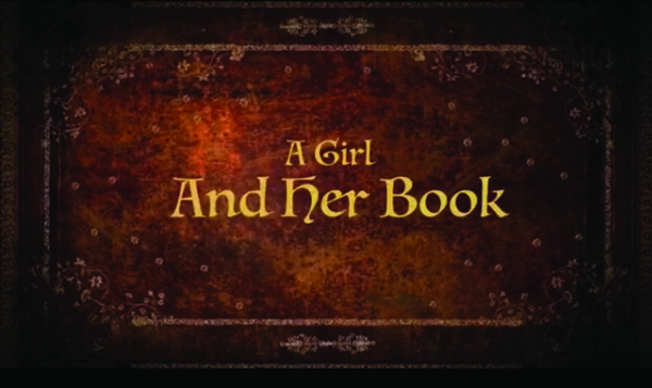 "Here's a screenshot from the most recent video short, ""A Girl and Her Book,"" produced by WMC Productions, a team of five Hillsboro Middle/High School students. Ainsley Duell said the video took about 10 hours to complete this summer."