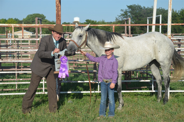 Courtesy Photo Rylee Thomas - Grand Champion, Halter Horse