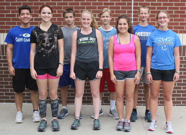 Goessel has strong returning squad of runners