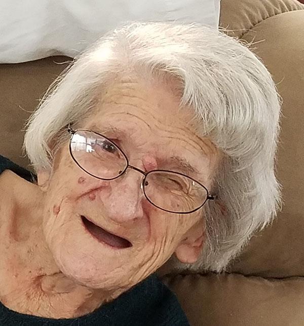 DEATH: Irene Hedrick, 92