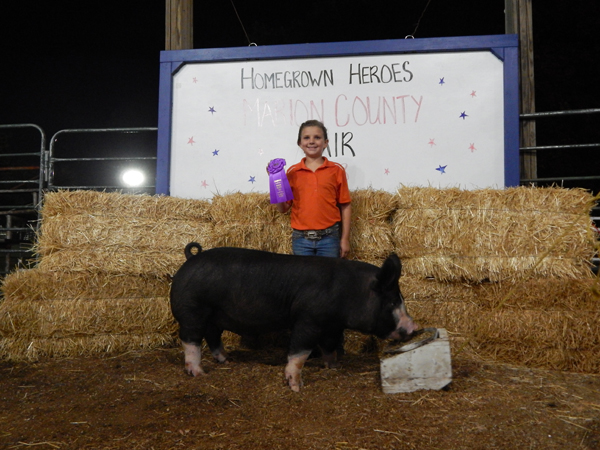 Marion County Fair Results for 2018