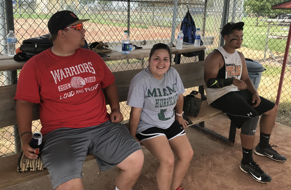 Locals enjoy memorial softball tournament in Marion.