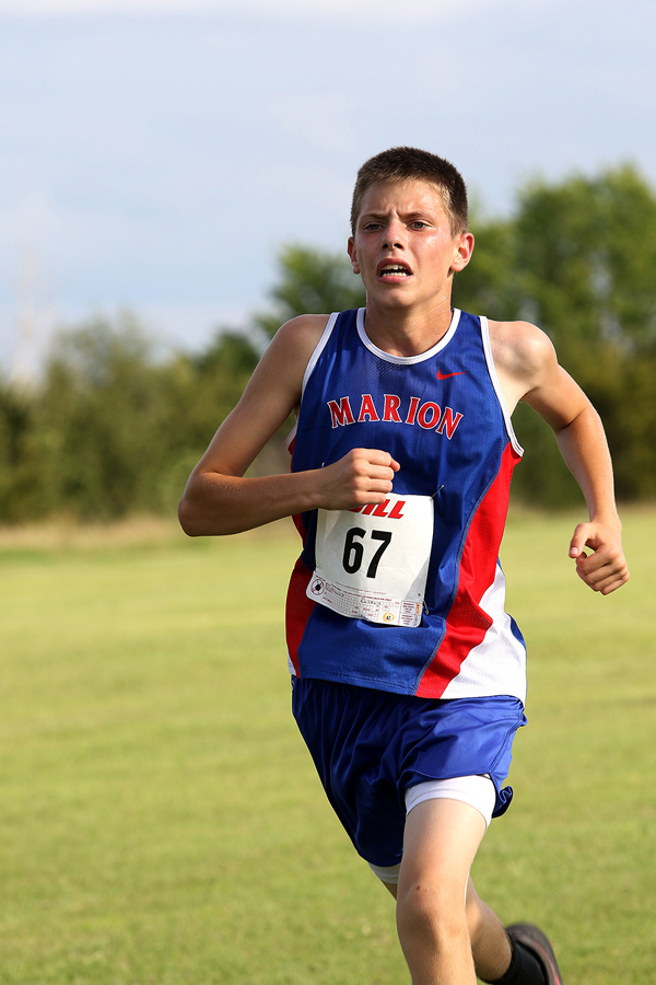Marion Cross Country hits Herington