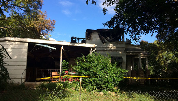 Fire ravages Marion home
