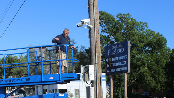 New Cameras up at Four Way Stop