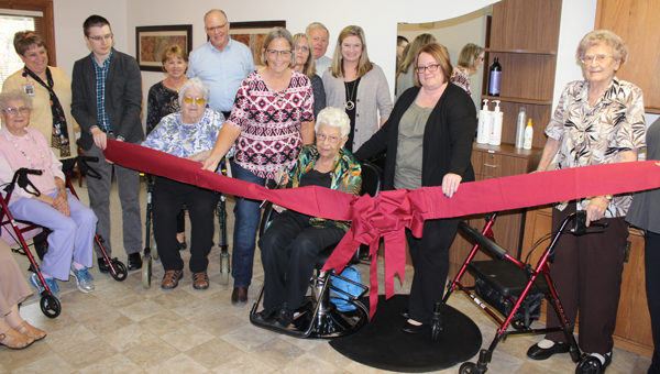 Parkside Homes opens a new beauty shop