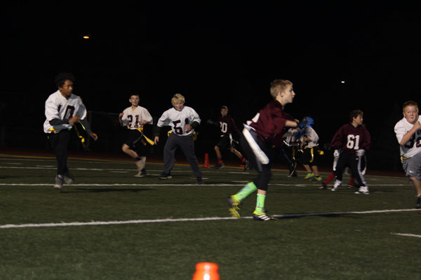 Hillsboro teams show off during flag football showcase