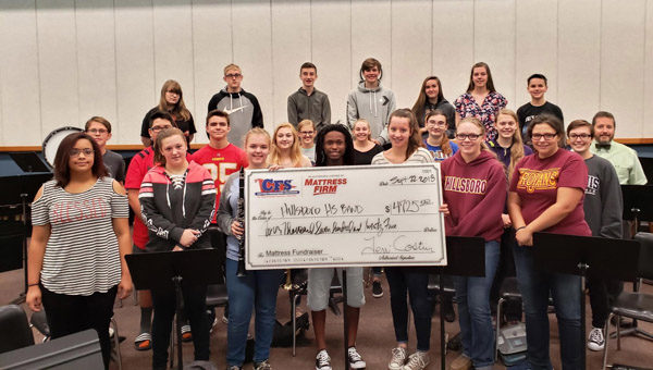 Mattress Fundraiser a success for Hillsboro Band
