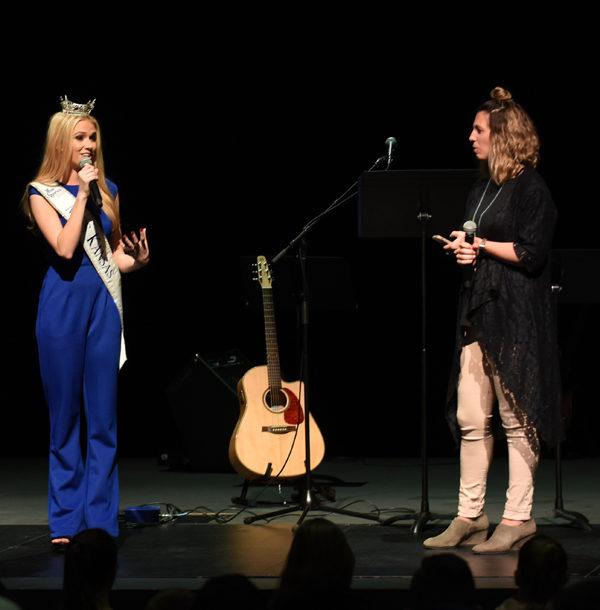 Miss Kansas kicks off Mental Health Awareness Week
