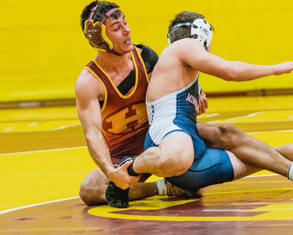 Senior Kyle Horton weight class 145 wrestling Body Murk from Minneapolis.
