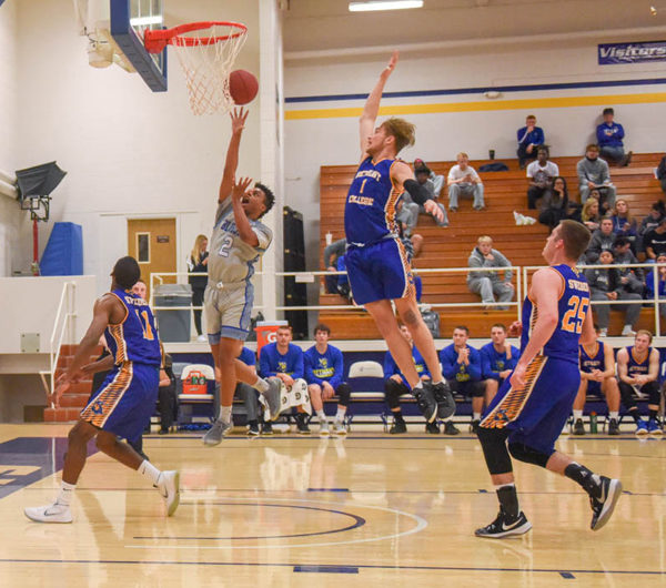 Tabor cruises past Bethany College