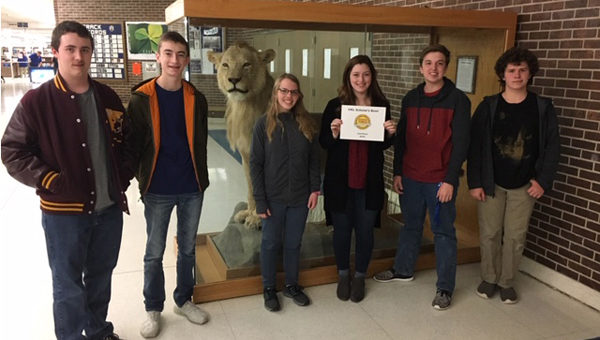 Hillsboro Scholar's Bowl team takes third